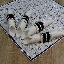 Úžitkový textil - Folklór v kuchyni(2) - krúžky na servítky - 8013949_