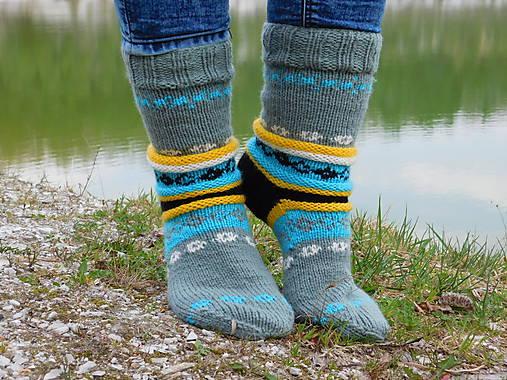 115577cd8 šedé ponožky s nórskym vzorom (v.38-39) / Eva64 - SAShE.sk ...