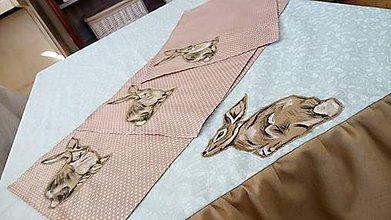 Úžitkový textil - Veľkonočný obrus Zajac - 8013900_