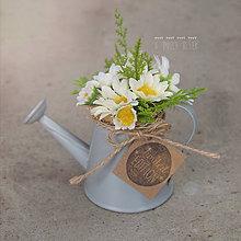 Dekorácie - Jarná mini dekorácia - 8013678_