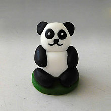 Hračky - Mini panda figúrka (:cD) - 8011913_