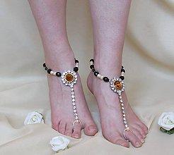 Iné šperky - Jantárové oči - 8012195_