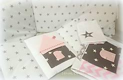 Textil - Mantinel a obliečky do detskej postieľky Čarovná hviezdička - 8015173_
