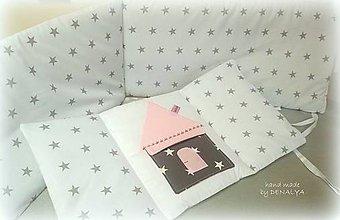 Textil - Mantinel z kolekcie Čar.hviezdička 240x25 - 8015164_