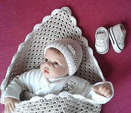 Textil - Novorodenecký set - 8016399_