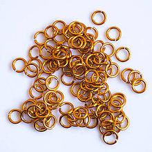 Komponenty - 5/1,2 100ks Oranžové - eloxovaný hliník - 8015934_