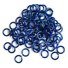 Komponenty - 5/1,2 100ks Tmavě modré - eloxovaný hliník - 8015958_