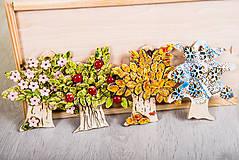 - DSS Interga: Keramický stromček štyri ročné obdobia - set 4  - 8015111_
