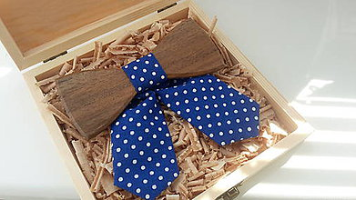 Náhrdelníky - Dámsky Drevený motýlik - 8015090_