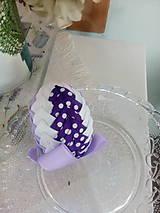 Dekorácie - Veľké fialové - 8018058_