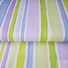 Textil - svieže pásy; predzrážaná 100 % bavlna Nemecko, šírka 140 cm, cena za 0,5 m - 8017027_
