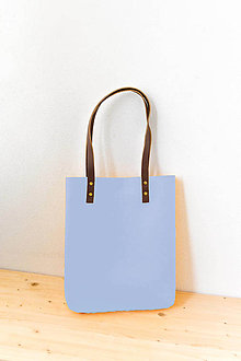 Kabelky - Urban... light blue... Felt & Leather... & Magnetic Closure - 8017685_