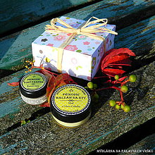 Drogéria - Dárková krabička - Tuhý parfém & balzám na rty - 8015695_