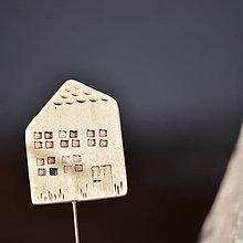 Dekorácie - Zápich domeček - Natura 7 - 8016173_