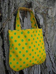 Nákupné tašky - Taška 2v1 - jarno-letná - 8018535_