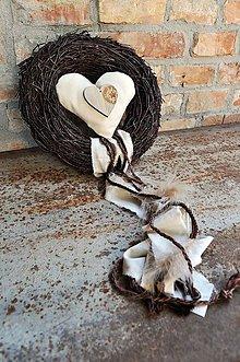 Dekorácie - Veniec...Srdce v srdci - 8014861_