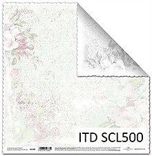 Papier - Papier scrapbooking SCL500 - 8015660_