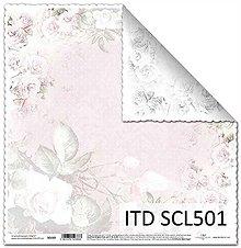 Papier - Papier scrapbooking SCL501 - 8016589_