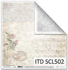Papier - Papier scrapbooking SCL502 - 8016654_