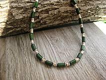 Šperky - Pánsky náhrdelník okolo krku drevený - 8017117_