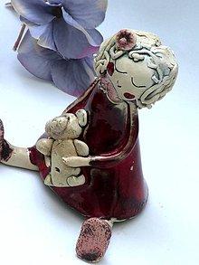 Socha - bábika  dievčatko figúrka - 8016414_