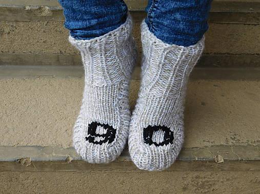 ae9bdbf9f Ponožky s číslom (v.38) / Eva64 - SAShE.sk - Handmade Obuv