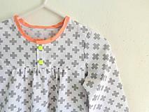 košuľka Ruženka Šípkovie Scandi stajl