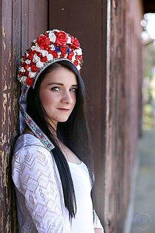 Ozdoby do vlasov - folková parta by michelle flowers - 8020231_