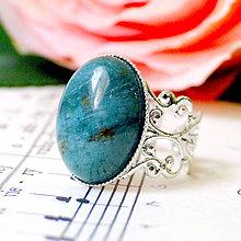 Prstene - Ornament Indian Agate Ring in Silver / Prsteň s indiánskym achátom v striebornom prevedení T2008a /0592 - 8022859_