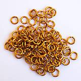 Komponenty - 4/1,2 100ks Oranžové - eloxovaný hliník - 8019832_