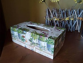 Krabičky - bylinková na servítky - 8021616_