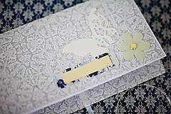 Papiernictvo - Scrapbook obálka na peniaze - 8022261_