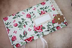 Papiernictvo - Scrapbook svadobná obálka na peniaze - 8022301_