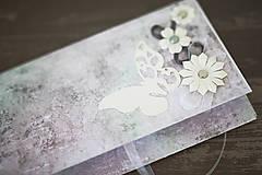 Papiernictvo - Obálka na peniaze - svadba - 8022313_