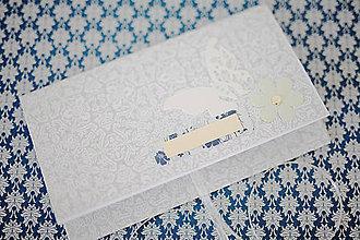 Papiernictvo - Scrapbook obálka na peniaze - 8022259_