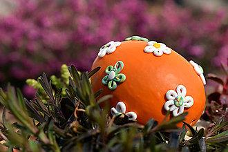 Dekorácie - Veľkonočné oranžové - 8021202_