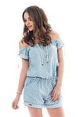 Iné oblečenie - Overal Overy azul - 8023759_