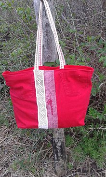 1f79099aae Farebné recy handmade a patchwork - lienka97 Textilné kabelky   SAShE.sk