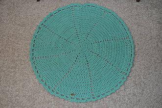 Úžitkový textil - Koberec pre šmoulinku - 8020549_