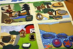Hračky - Naša Zem je guľatá...žijú na nej zvieratá... - 8021856_