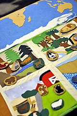 Hračky - Naša Zem je guľatá...žijú na nej zvieratá... - 8021871_