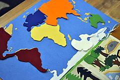 Hračky - Naša Zem je guľatá...žijú na nej zvieratá... - 8021880_