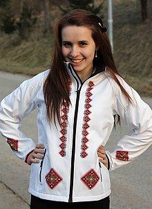 Kabáty - Softshellová bunda výšivka 15 - 8023043_