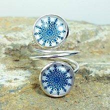 Prstene - Prsteň modrotlač - 8023193_