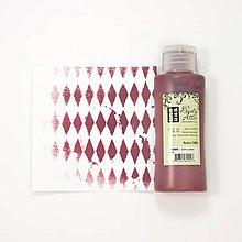 Farby-laky - Dusty Attic - Raisin (tmavo červená akrylová farba) - 8021716_