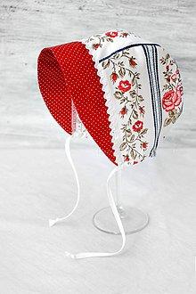 Detské čiapky - Baby čepiec Folk - 8019552_
