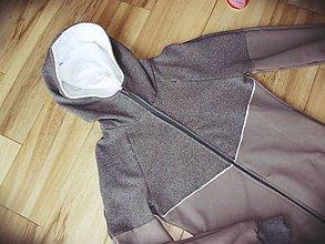 Tehotenské oblečenie - Mikina na nosenie deti- šedá - 8022336_