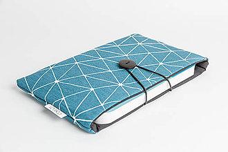 Papiernictvo - Obal na knihu XS - tyrkys - 8023546_