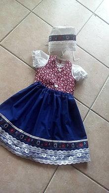 Detské súpravy - Dievčenský ľudový odev - 8023559_