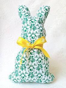Dekorácie - Bunny (I love slovak folklore) - 8027457_